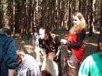 Hlouběji v lesích mají své doupě čarodějnice, naši fotografové je zachytili bezprostředně po sabatu s čerty...